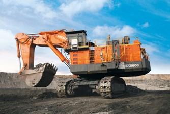 Máy xúc đào hạng nặng